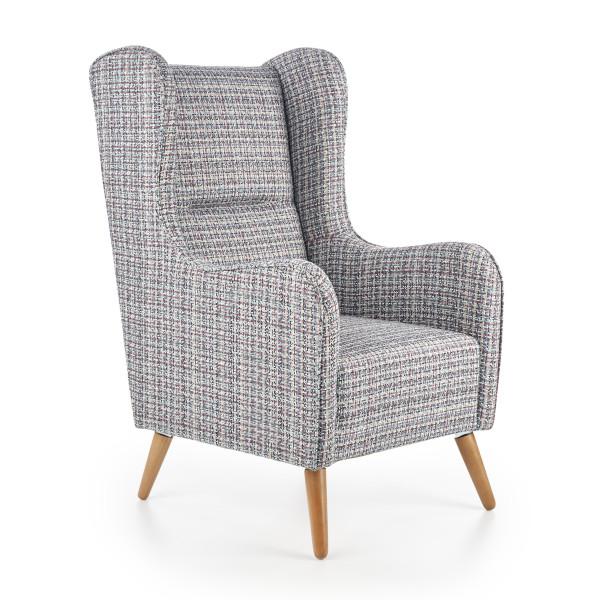 fotel uszak tapicerowany