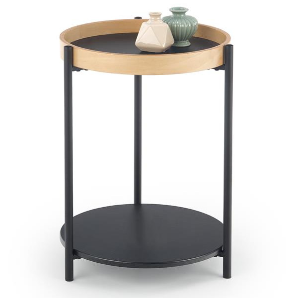 stolik kawowy z dwoma blatami