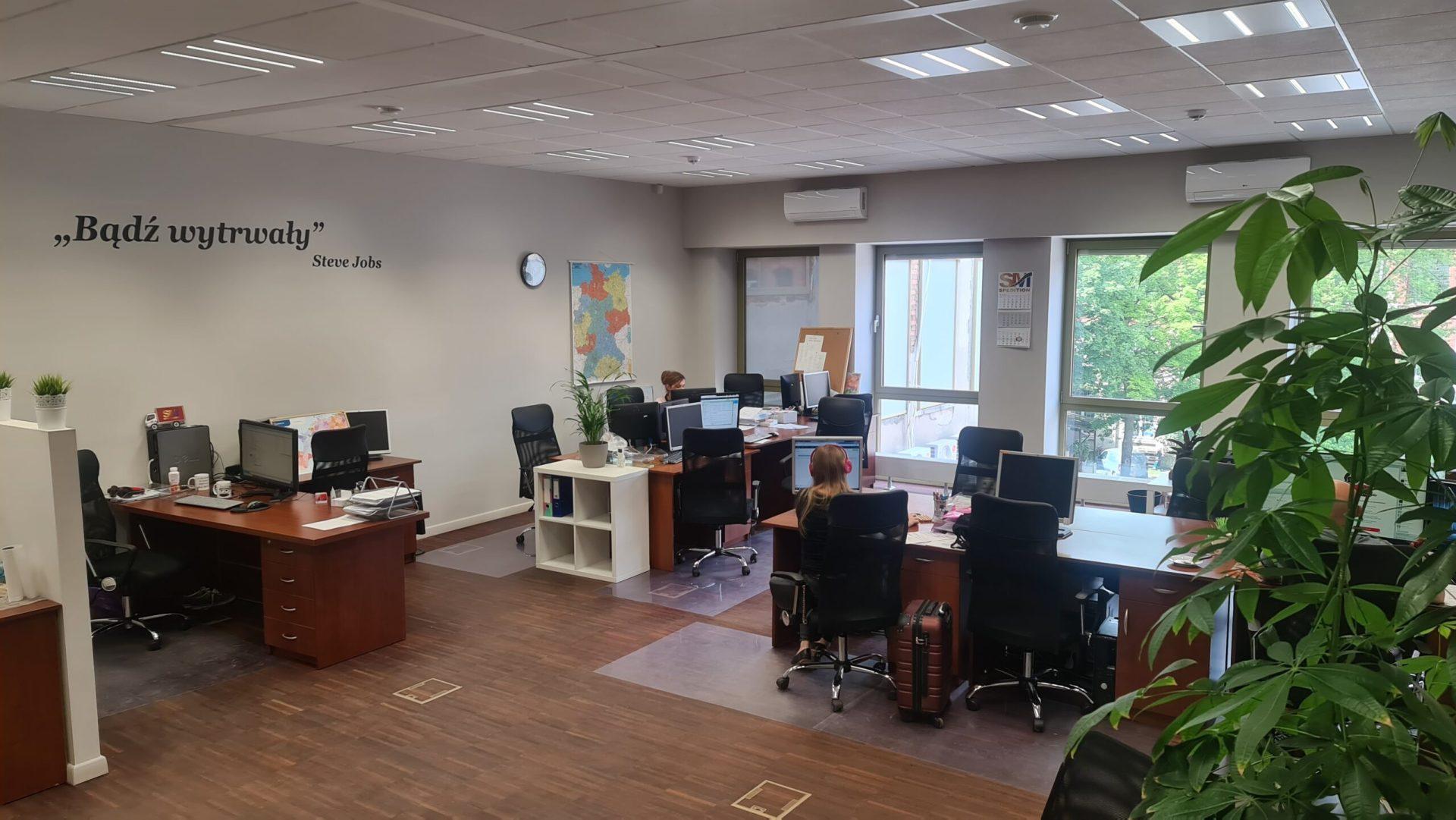 biuro przed
