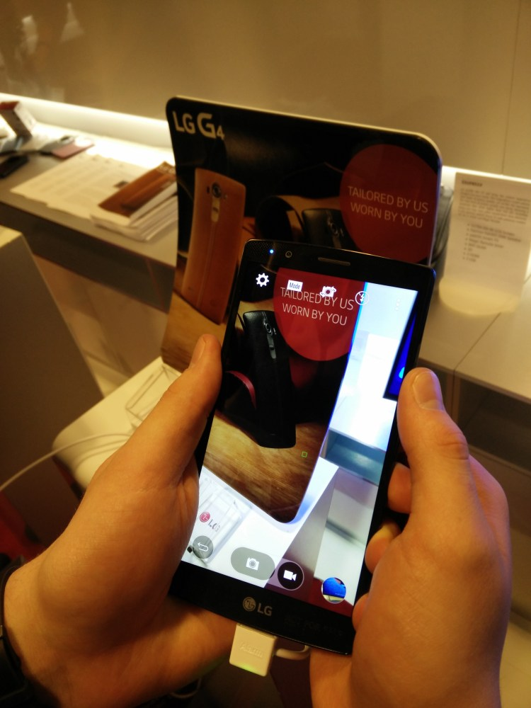 Den svenska lanseringen av LG G4 (eller målet att försöka skapa en naturlig relation mellan teknik och människa) (6/6)