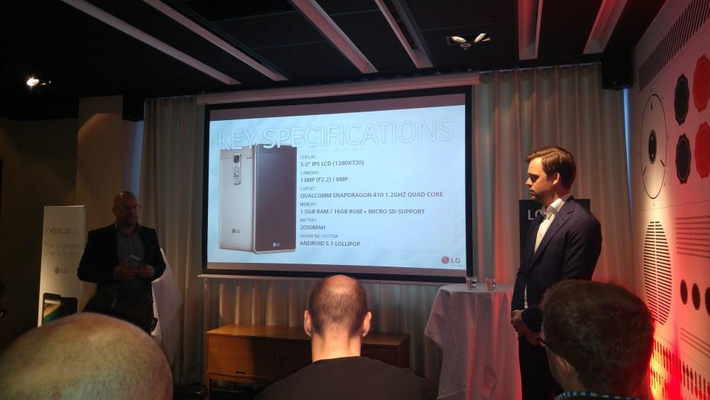 LG:s Q4 produktnyheter: LG Zero, LG Easy Smart och självklart Nexus 5X! (3/6)