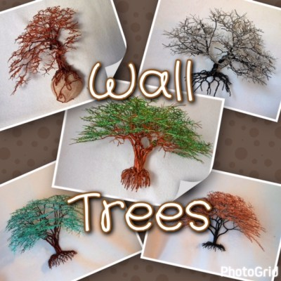 Wire Tree Sculpting Class: Wall Tree