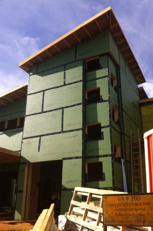 The Modern Proud Green Home At Serenbe Lg Squared Archi
