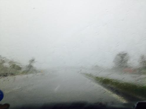 Torrential rains near Rayakottai