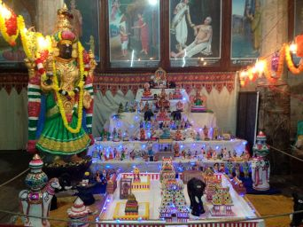 Golu @ the temple