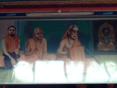 Kaanchi Periyava, Jayendra Saraswathi Swamigal, Vijayendra Saraswathi Swamigal