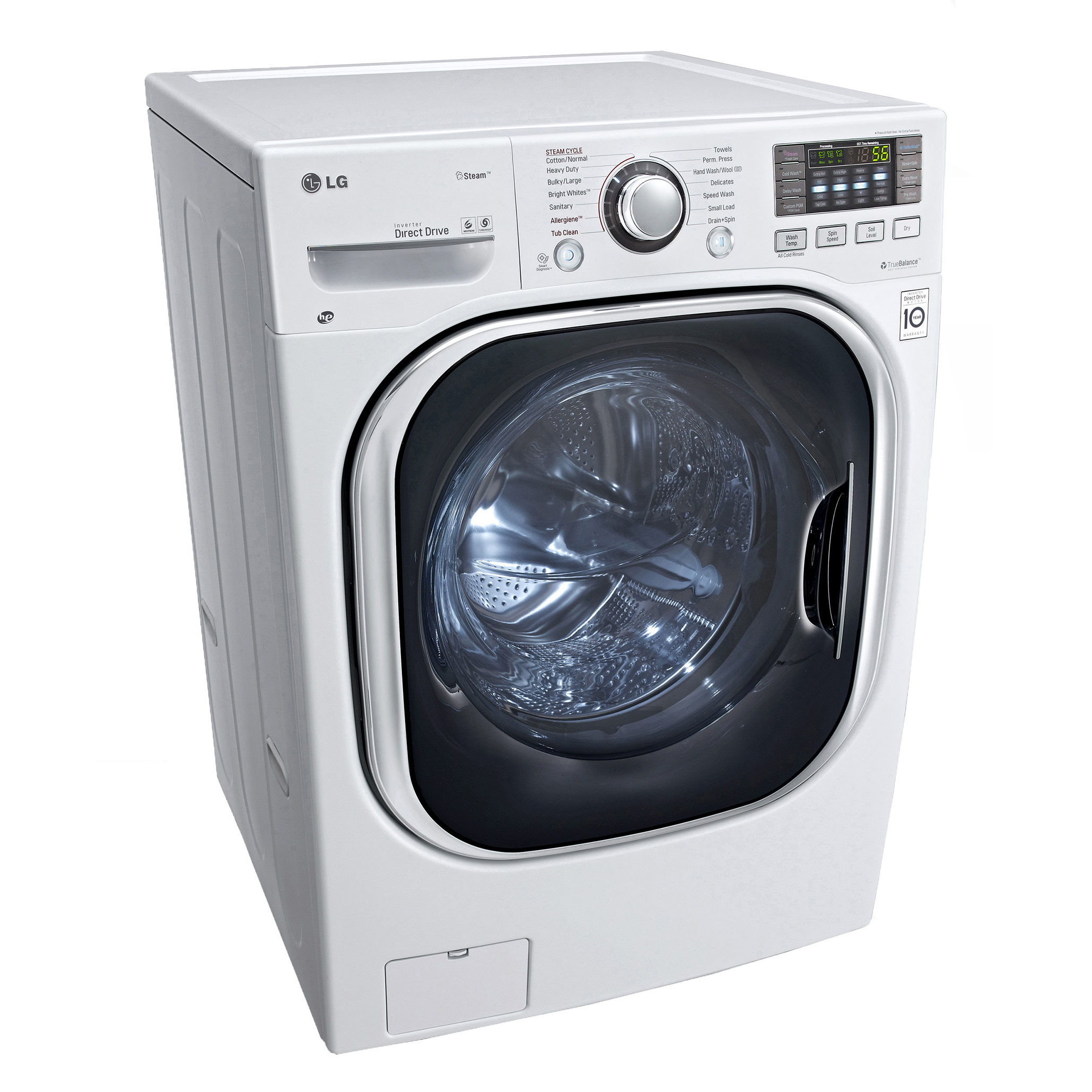 ... LG WM3997HWA U2013 27u201d Full Size Ventless Washer Dryer Combo ...