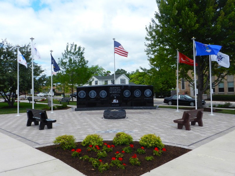 Huntley Veterans Memorial