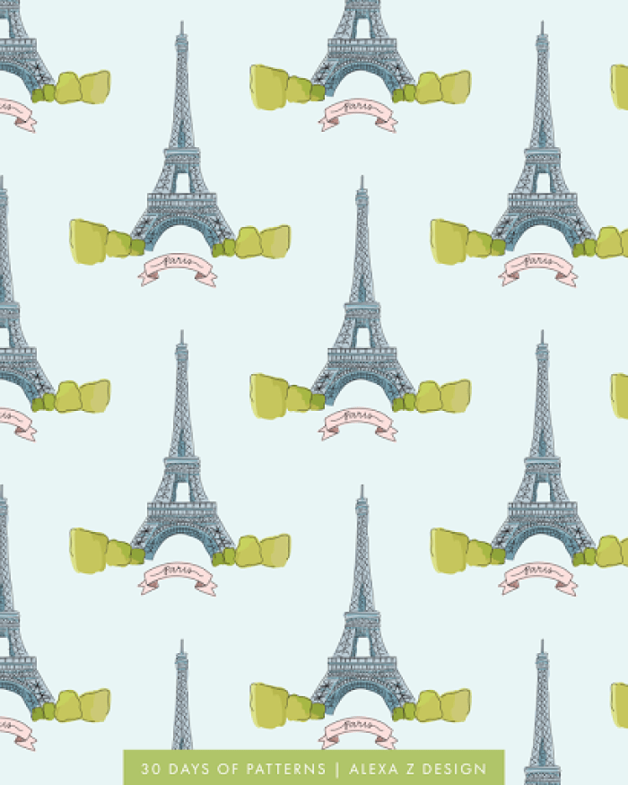 paris - Alexa Z Design pattern