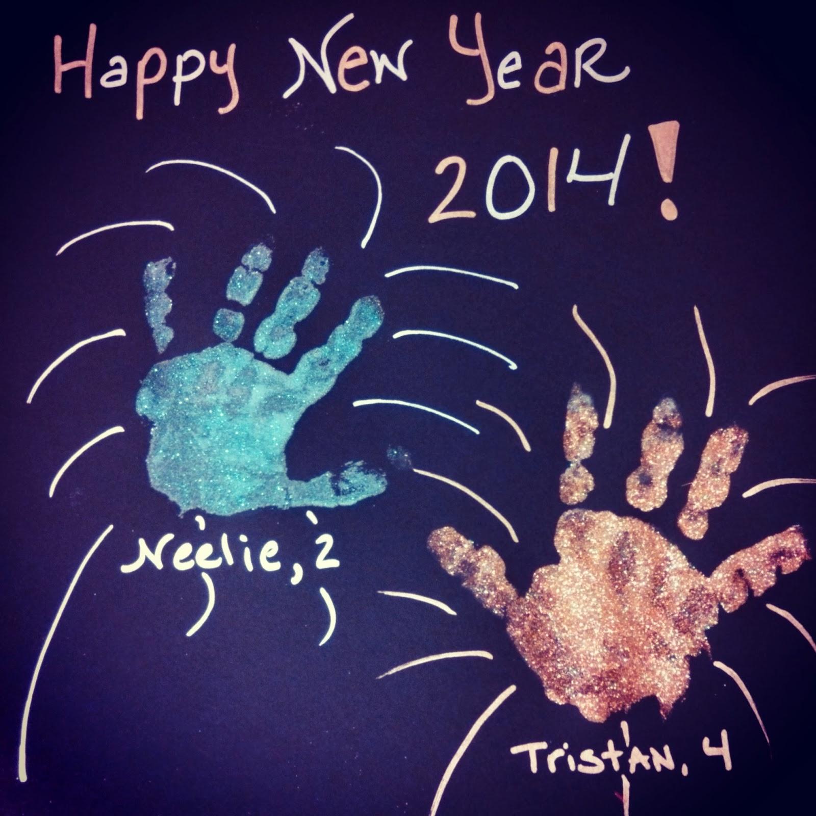 Tristan And Neelie Crafts Happy New Year