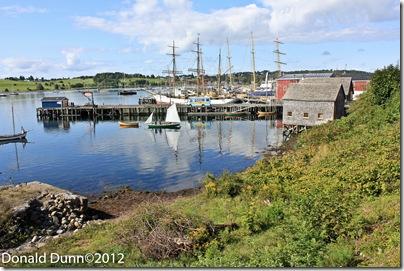 Harbor at Lunenburg, Nova Scotia