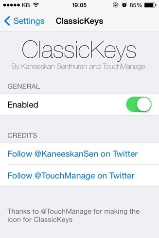 ClassicKeys Cydia Tweak Adds iOS 6 Keyboard To iOS 8 (2)