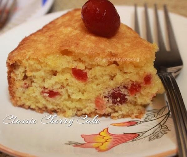 Classic Cherry Cake1