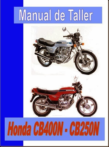 taller honda cb 400