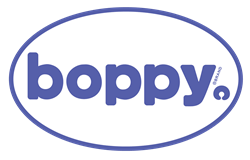 boppy® logo 3.5.15 white outline