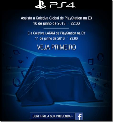 PS4: Sony convida os Gamers para cobrir a coletiva de lançamento do novo console