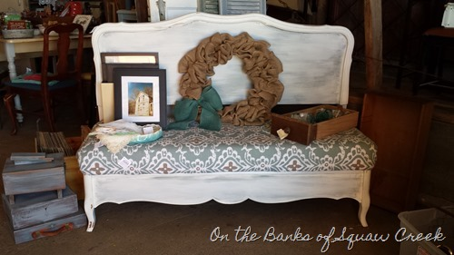 headboard benches: 4 tips and tricks | on the banks of squaw creek