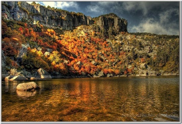 Black Lagoon in Autumn