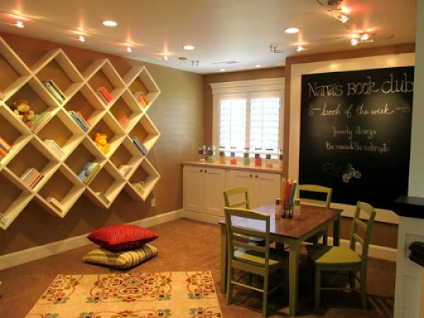 Cardboard by Sherwin Williams -playroom paint color