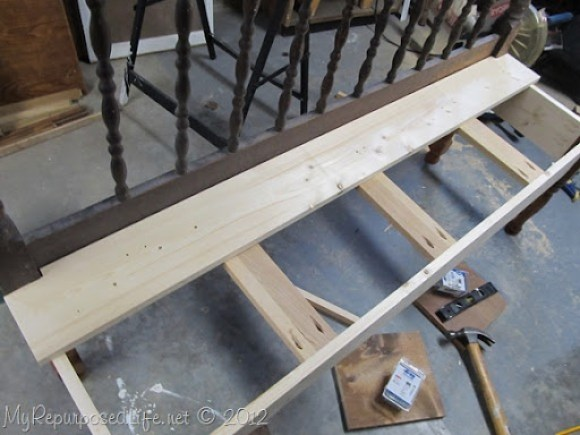 assemble jenny lind bed bench seat
