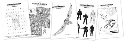 Free Captain American Printables