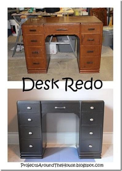 Desk Redo, refinish
