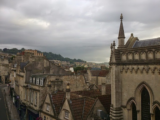 Saturday morning in Bath