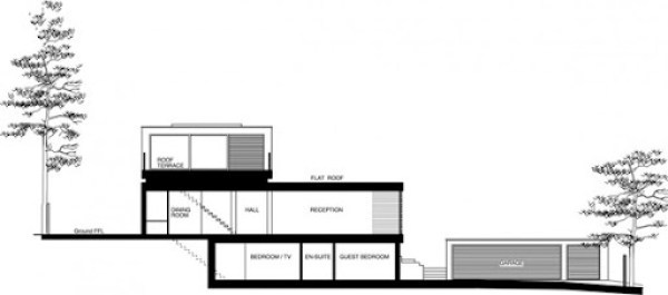 elevacion-plano-casa-white-lodge-arquitecto-dyer-grimes
