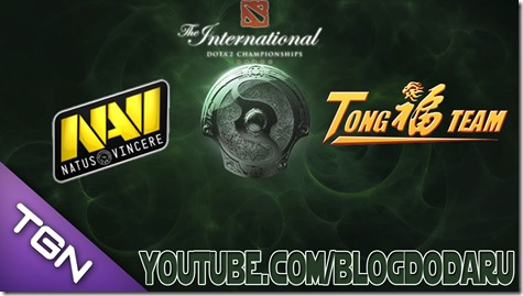 Dota 2: Navi x TongFu - The International Championships 2013 - TI3 - 3 Round