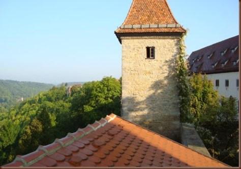 Rothemburg ob der Tauber - Rota Romântica da Alemanha - Burg Hotel