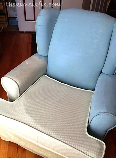 Painted soft chair