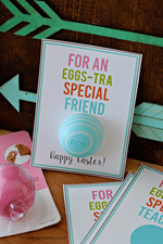 Thirty Handmade Days - Printable EOS Lipbalm Easter Gift Tag