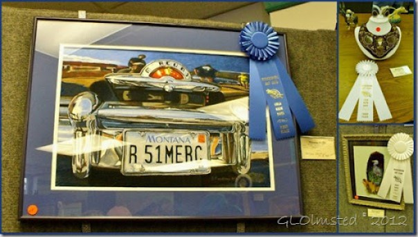 Art show winners Gold Rush Days Wickenburg Arizona