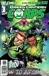 P00184 - Green Lantern Corps v2011