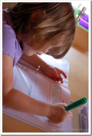 New Calendar Notebook ~ Our Aussie Homeschool