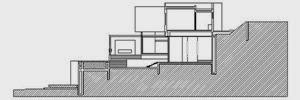 corte-1-Casa-CG-de-GLR-arquitectos