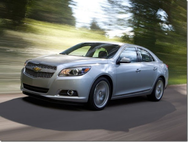 2013 Chevrolet Malibu LTZ Turbo