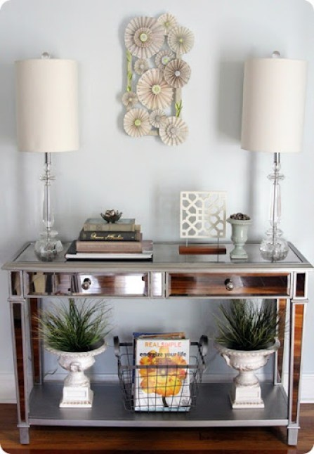 Lovely Cupboard living room console table[1]