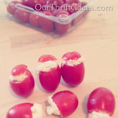 cheese stuffed tomatoes