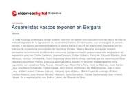 Agrupación de Acuarelistas Vascoss en Bergara