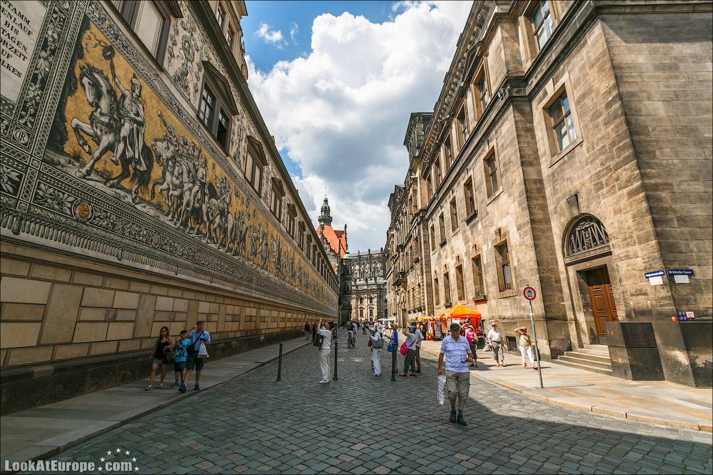 Дрезден. Панно Шествие королей