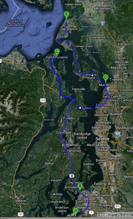 rerouting to Whidbey Island