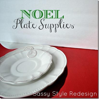 noel plate supplies