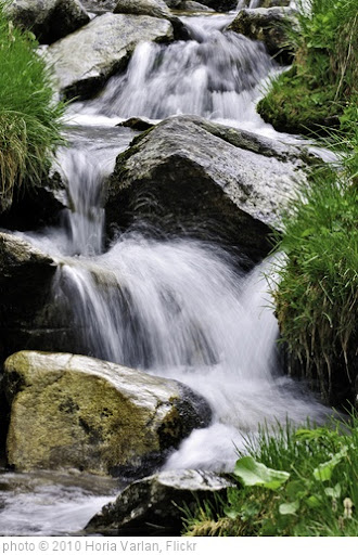 'Water falling over large brown rocks' photo (c) 2010, Horia Varlan - license: http://creativecommons.org/licenses/by/2.0/