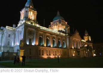 'Belfast City Hall at night' photo (c) 2007, Shaun Dunphy - license: http://creativecommons.org/licenses/by-sa/2.0/