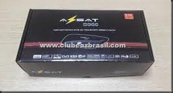 AZSAT S966 V 1016 - ATUALIZAÇÃO 30.07.2014