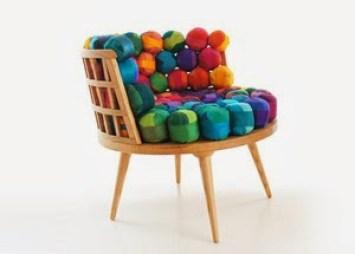diseño sillas con material reciclado