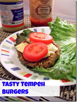 tasty tempeh burgers