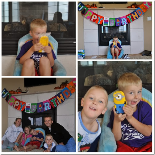 7th bday Collage