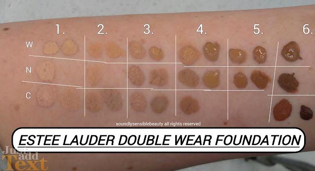 Foundation Lauder Estee Wear Ivory 3n1 Double Beige